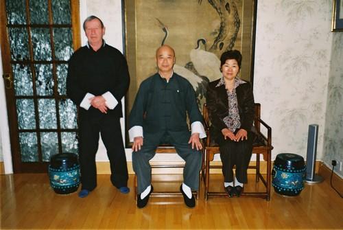 Louis Mortelecque, M. Chu et épouse